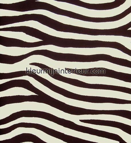 Zebra bruin 385032 behang paradiso eijffinger - Behang zebra ...