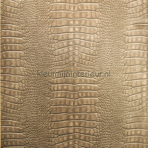 Krokodillen leer beige sd102102 behang natural faux for Modern behang