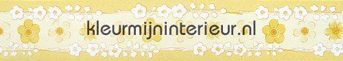 smalle bloemrand behang 1075-2-A aanbieding behang Kleurmijninterieur