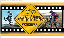 Mountain bike rand papel de parede Dutch Wallcoverings urbana