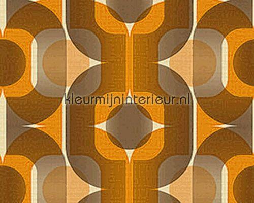 Gordijnen Oranje Bruin Volkswagen gordijnen set delig wit geel bruin