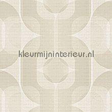 Retro grijs-beige behang AS Creation Retro Vision 95528-3