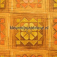 Warm abstract vintage tapet Kleurmijninterieur Vintage Gamle
