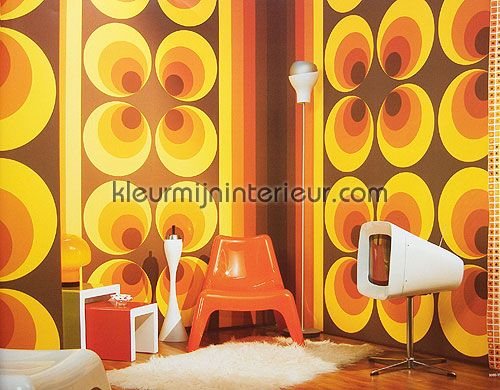 Behang Met Stippen : Retro behang 7013 12 behang retro vision as creation