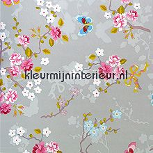 Pip chinese rose grey fotomurali Eijffinger PiP studio wallpaper