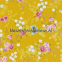 pip chinese rose gold behang Eijffinger PiP Wallpaper 386034