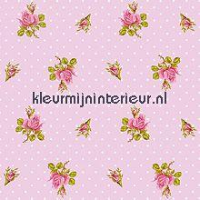 pip behang pink roses fotobehang Eijffinger PiP Wallpaper 386022