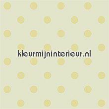 pip dots yellow behang Eijffinger PiP Wallpaper 386052