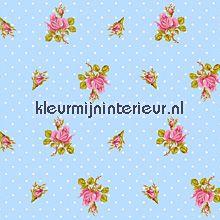 pip behang blue Eijffinger PiP Wallpaper 386021