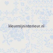 pip crossstitch pearl behang Eijffinger PiP Wallpaper 386001