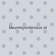 pip dots grey behang Eijffinger PiP Wallpaper 386051