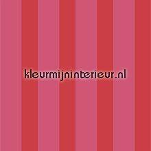 pip red stripes fotobehang Eijffinger PiP Wallpaper 386041