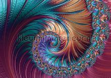 Colourful spiral fototapet Kleurmijninterieur stemning