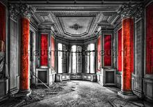 Historic room fototapet Kleurmijninterieur verdenskort