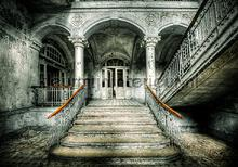 Palace entrance fototapet Kleurmijninterieur verdenskort