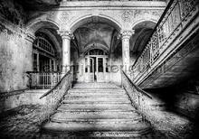 Palace entrance fototapeten Kleurmijninterieur weltkarten