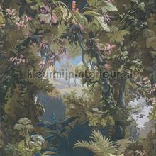 Landscape wallpaper tapet Kleurmijninterieur Vintage Gamle