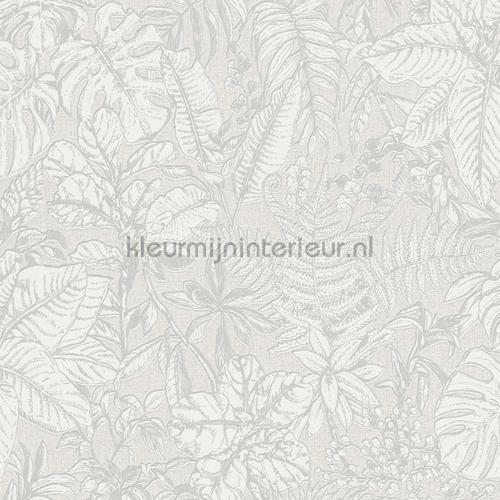 fern and leaves behang Landelijk - Cottage Kleurmijninterieur