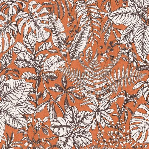 fern and leaves behang kmi864 bladmotief Kleurmijninterieur
