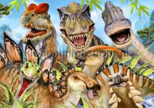 Dinosaurs fotobehang Kleurmijninterieur dino