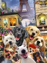 Dogs in Paris fototapeten Kleurmijninterieur weltraum