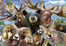 Reindeer and friends fotomurais Kleurmijninterieur selva