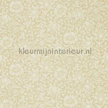 Mallow soft gold wallcovering Morris and Co Vintage- Old wallpaper