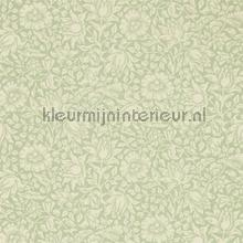 Mallow apple green wallcovering Morris and Co Vintage- Old wallpaper