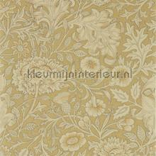 Double boughantique gold wallcovering Morris and Co Vintage- Old wallpaper