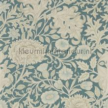 Double boughslate blue wallcovering Morris and Co Vintage- Old wallpaper