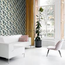 Abstracte driehoeken wallcovering Esta home Wallpaper creations