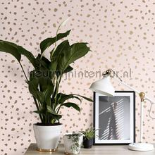Gespikkelt terrazo wallcovering Esta home Wallpaper creations