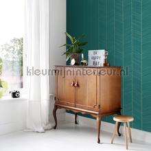Hongaarse punt ritme petrol carta da parati Esta home Wallpaper creations