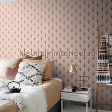Artdeco avantgarde pastel roze papier peint Esta home Wallpaper creations