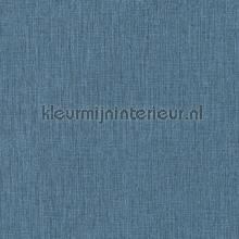 geweven linnen melange blauw zwart tapet Kleurmijninterieur All-images
