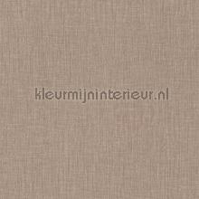 Geweven linnen melange beige bruin tapet Kleurmijninterieur All-images