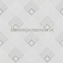Arte deco ruit patroon tapet Kleurmijninterieur All-images
