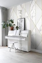 Marmer diagonalen fotomurales 156-158965 Moderno - Abstracto Esta home