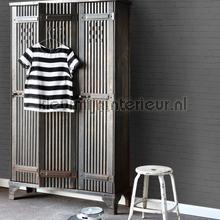 bakstenen muur glad antraciet behang Esta home Black and White 155-138535
