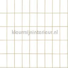 Kleine tegeltjes wit goud behang Esta home Grafisch Abstract
