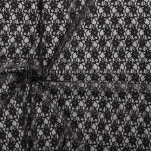 Bloemenkant opengewerkt zwart gordijnen Kleurmijninterieur Scion
