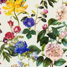 Wilde tuinbloemen behang Kleurmijninterieur romantisch
