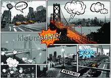 City bang fotomurales Kleurmijninterieur Todas-las-imágenes