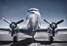 Front of an airplane fototapeten Kleurmijninterieur weltraum