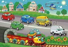 Childrens highway fotomurais Kleurmijninterieur selva