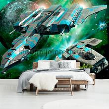 Space ships fototapeten Kleurmijninterieur weltraum