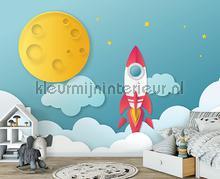 Childrens cosmos rocket fototapeten Kleurmijninterieur alle bilder