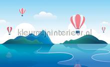 Lake balloons papier murales Kleurmijninterieur tout images