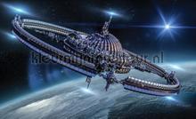 Spaceship fototapeten Kleurmijninterieur weltraum
