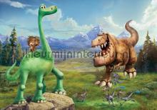 The good dinosaur meet up with Spot fotobehang Kleurmijninterieur kinderkamer jongens